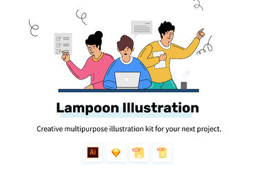 Lampoon-Illustrations