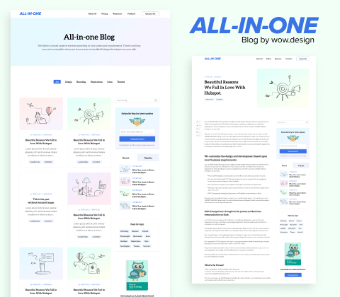 All In One Blog Cover