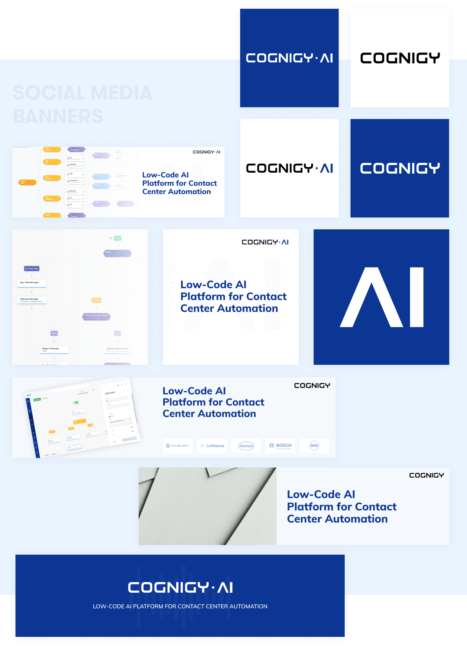 Banners - Cognigy    Website Design and Development by wowdesign