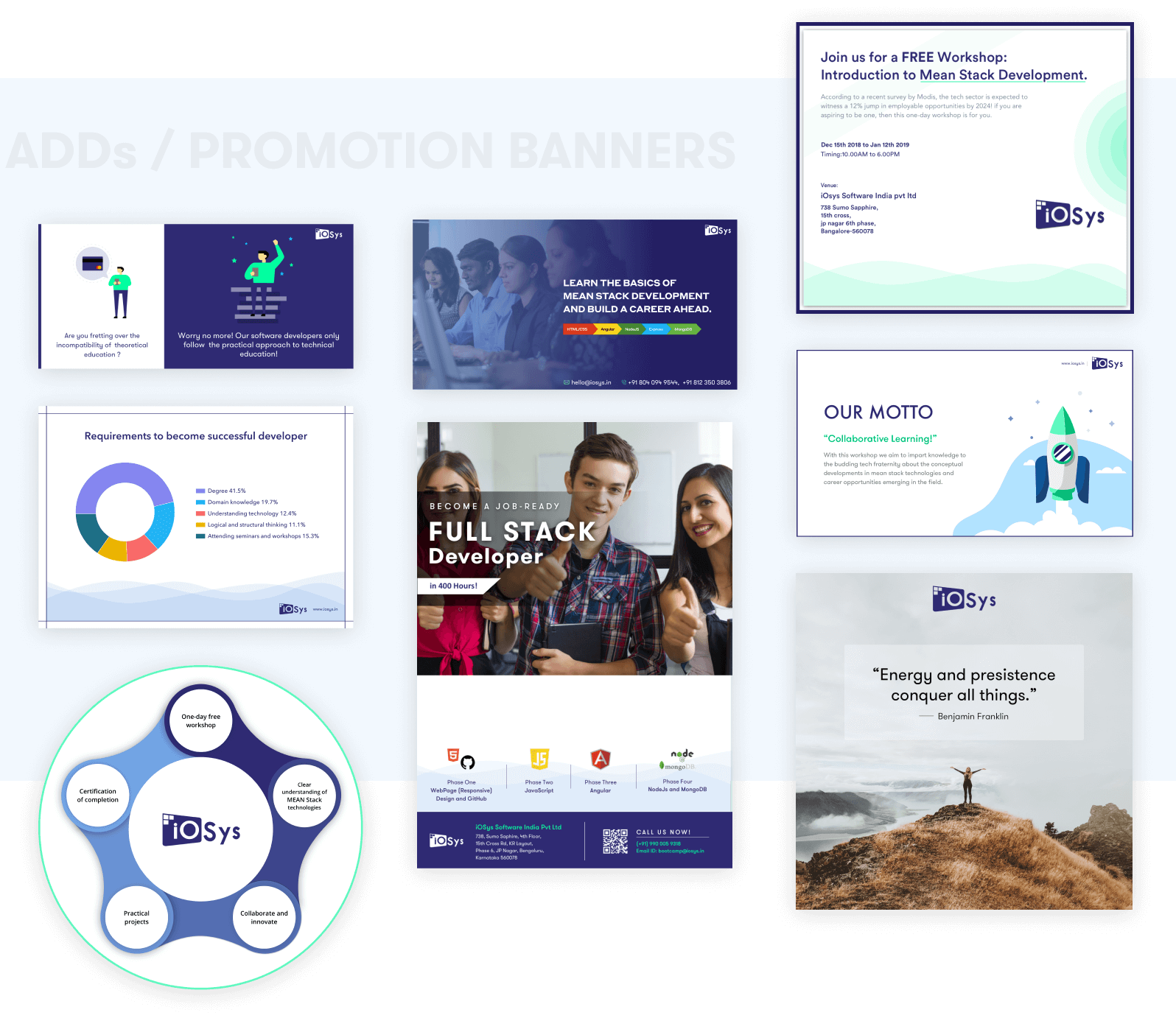 Banners - iOSys Design and development by wowdesign