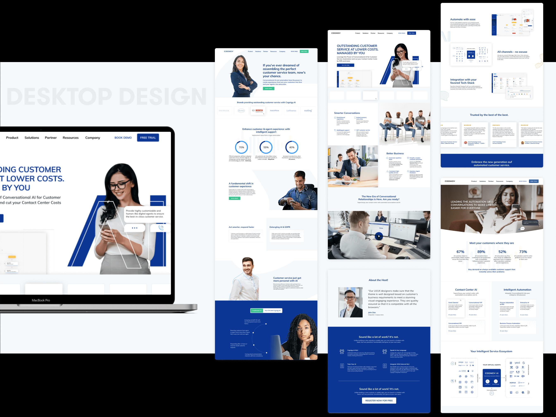 Cognigy Desktop | Website Design and Development by wowdesign