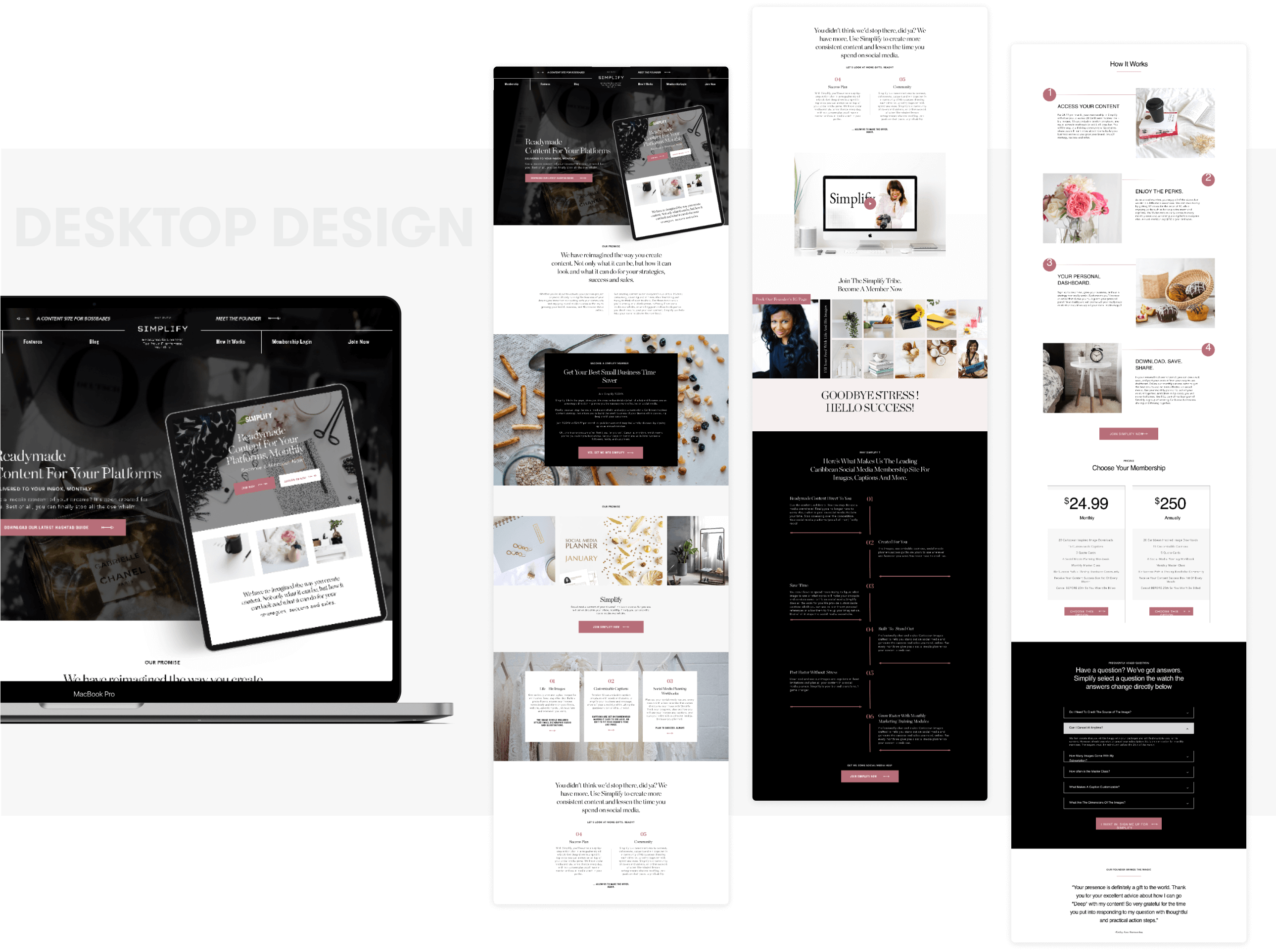 Forward Forty Desktop | Design and development by wow.design