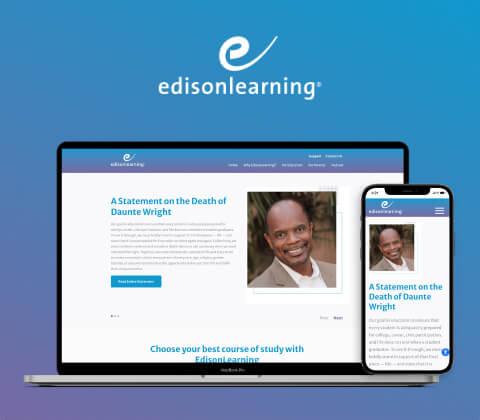 Edisonlearning Hubspot Website Design and Development