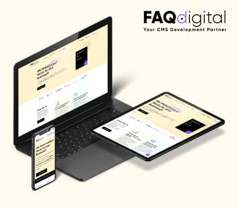 Faqdigital Hubspot Website Design and Development