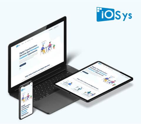 iOSys  Hubspot Website Design and Development