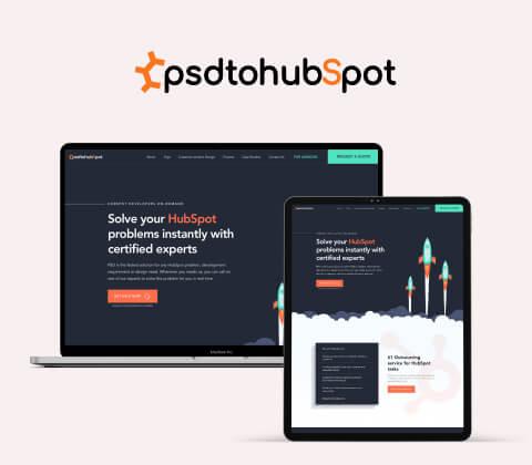 psdtohubspot Hubspot Website Design and Development