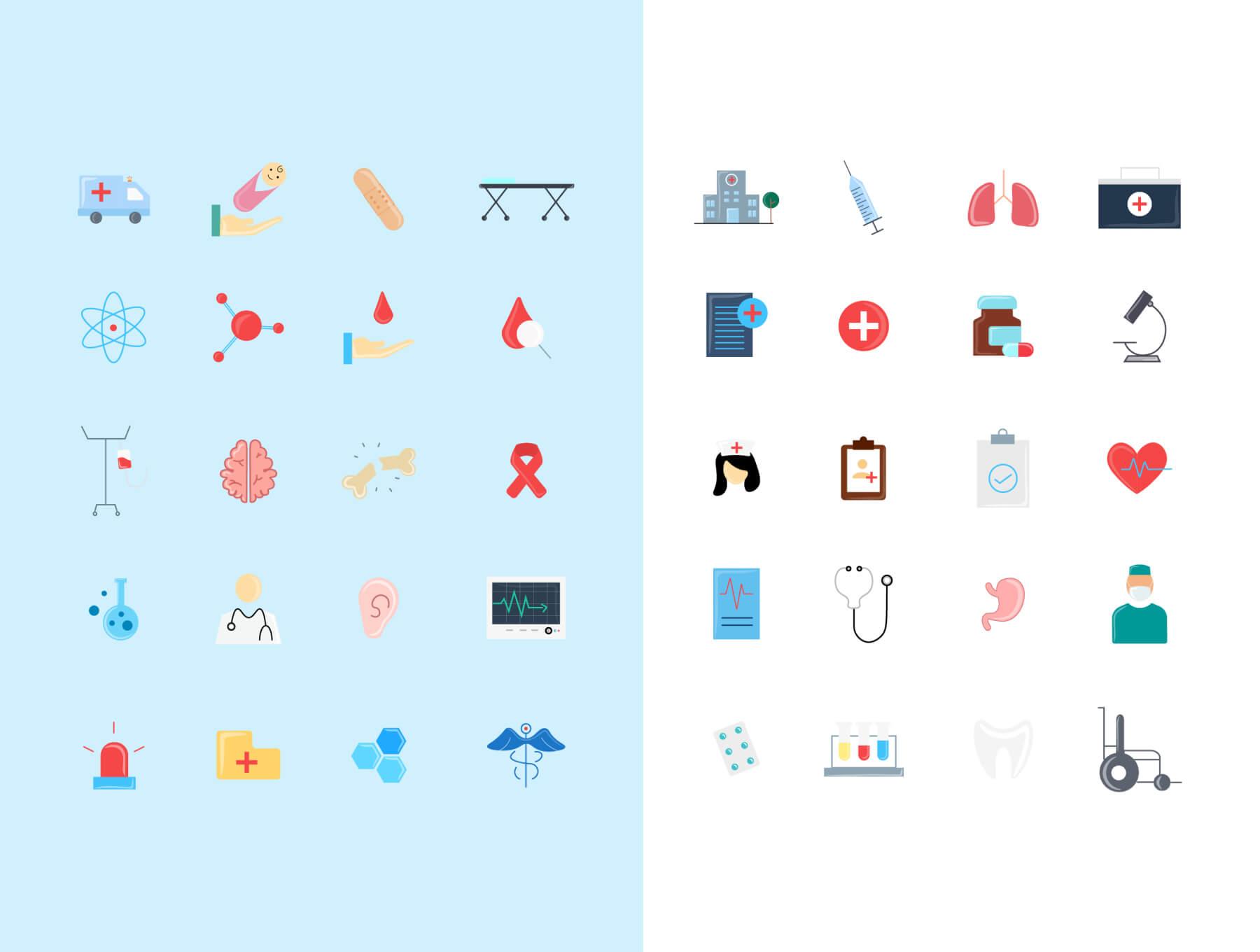 medical color 5