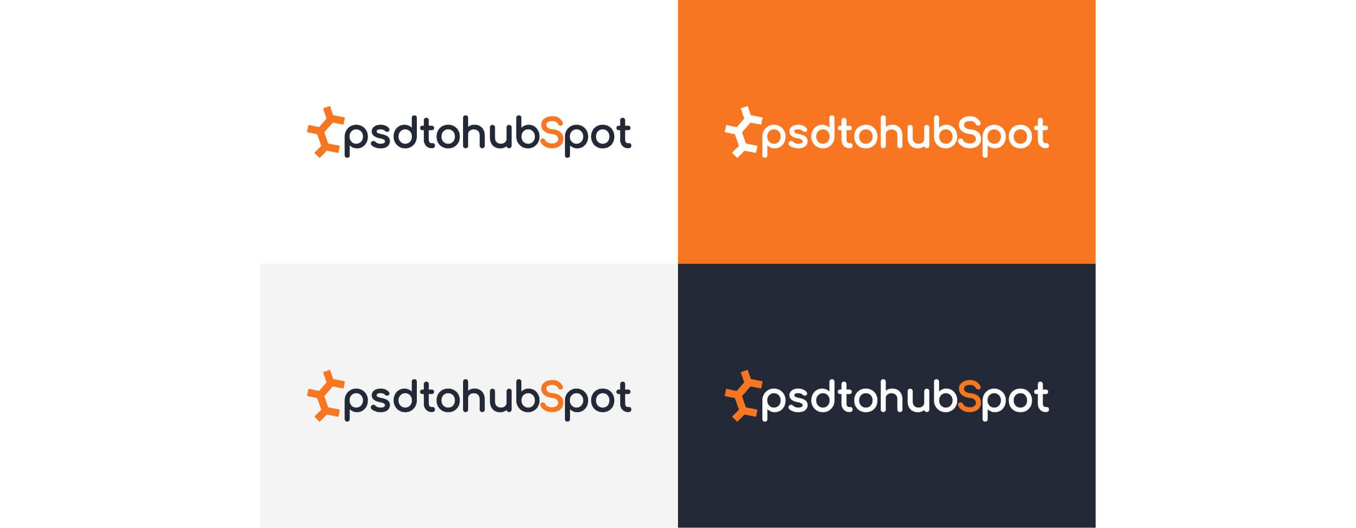 Psdtohubspot Logo Design by wow.design