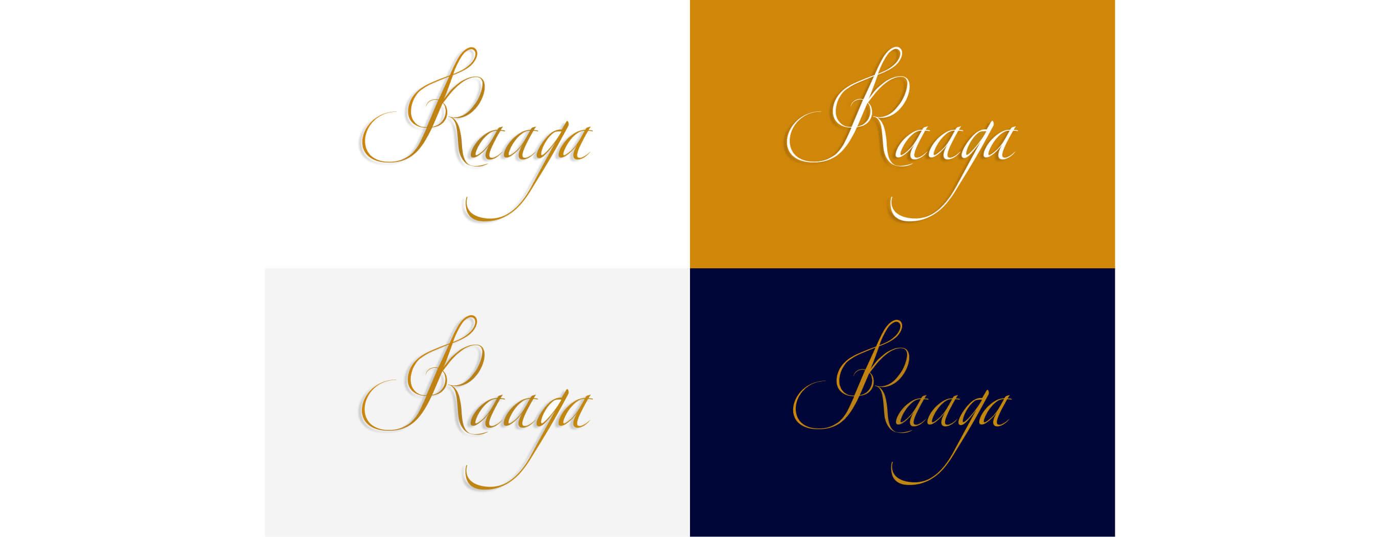 Raaga Logo Design by wow.design