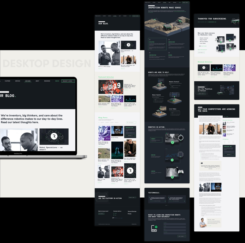Rocos DesktopDesign and development by wow.design