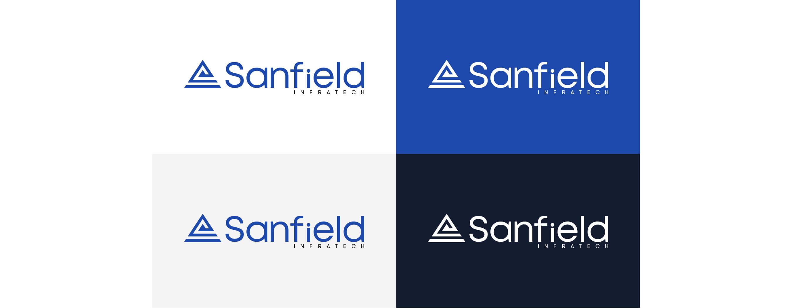 Sanfield Logo Design by wow.design