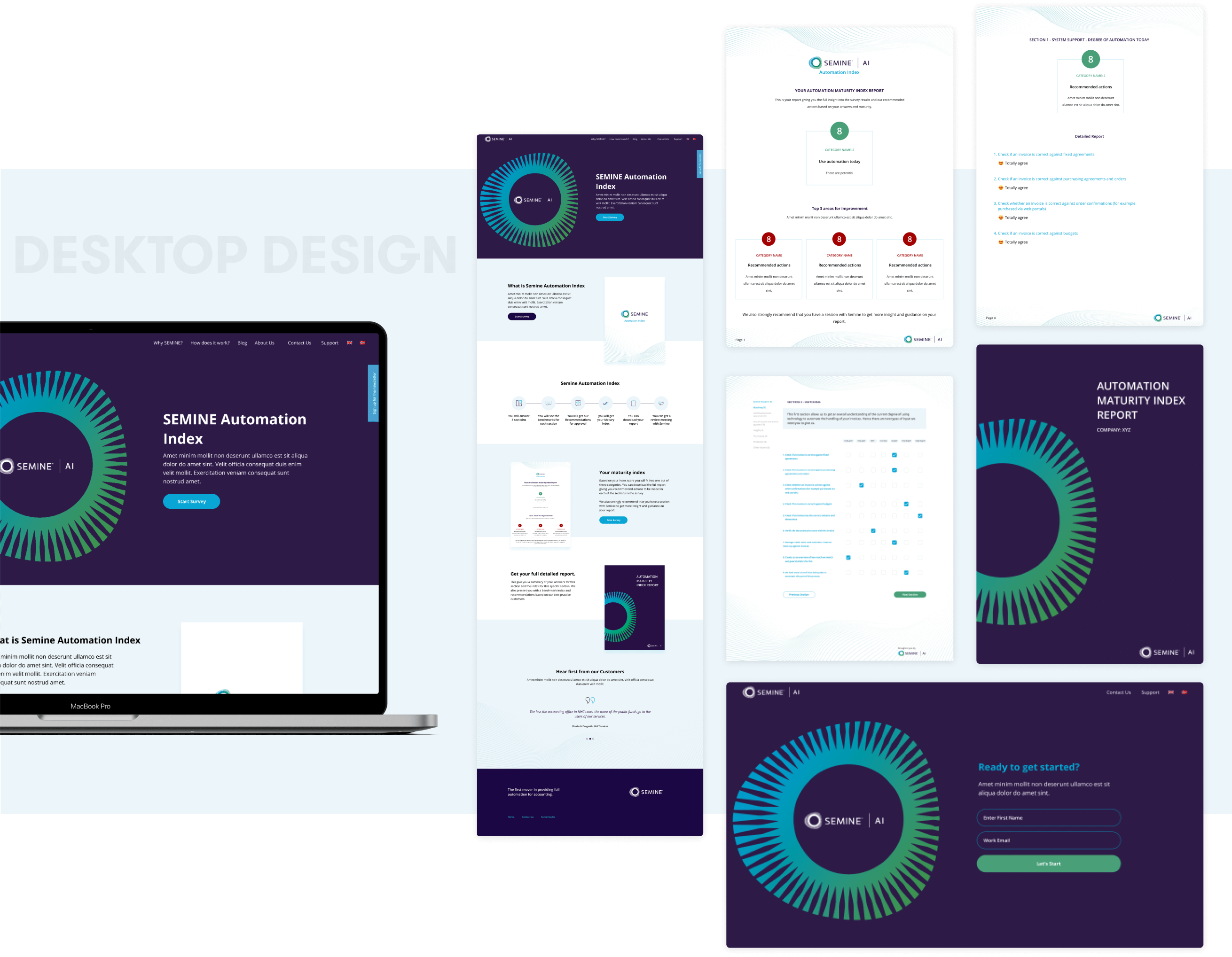 SemineDesign and development by wowdesign