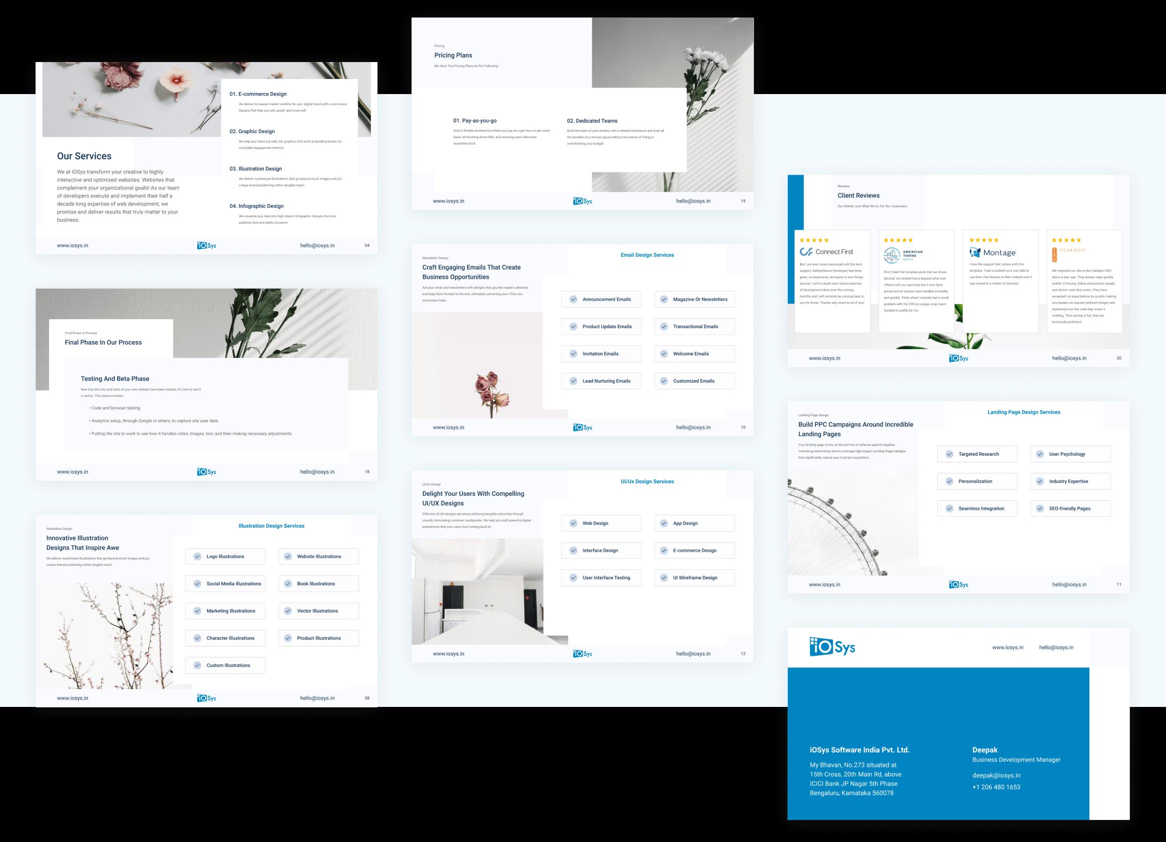 Slide Deck - iOSys Design and development by wowdesign