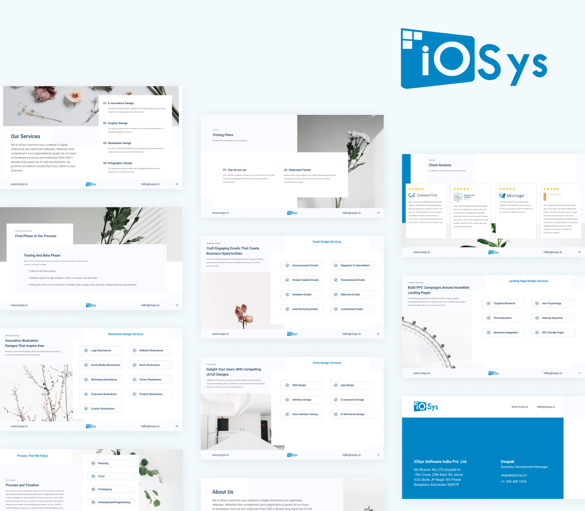 Slide Deck - iOSys Cover