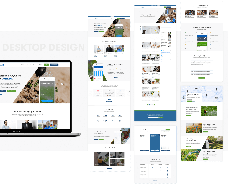 SmartlinkDesign and development by wowdesign