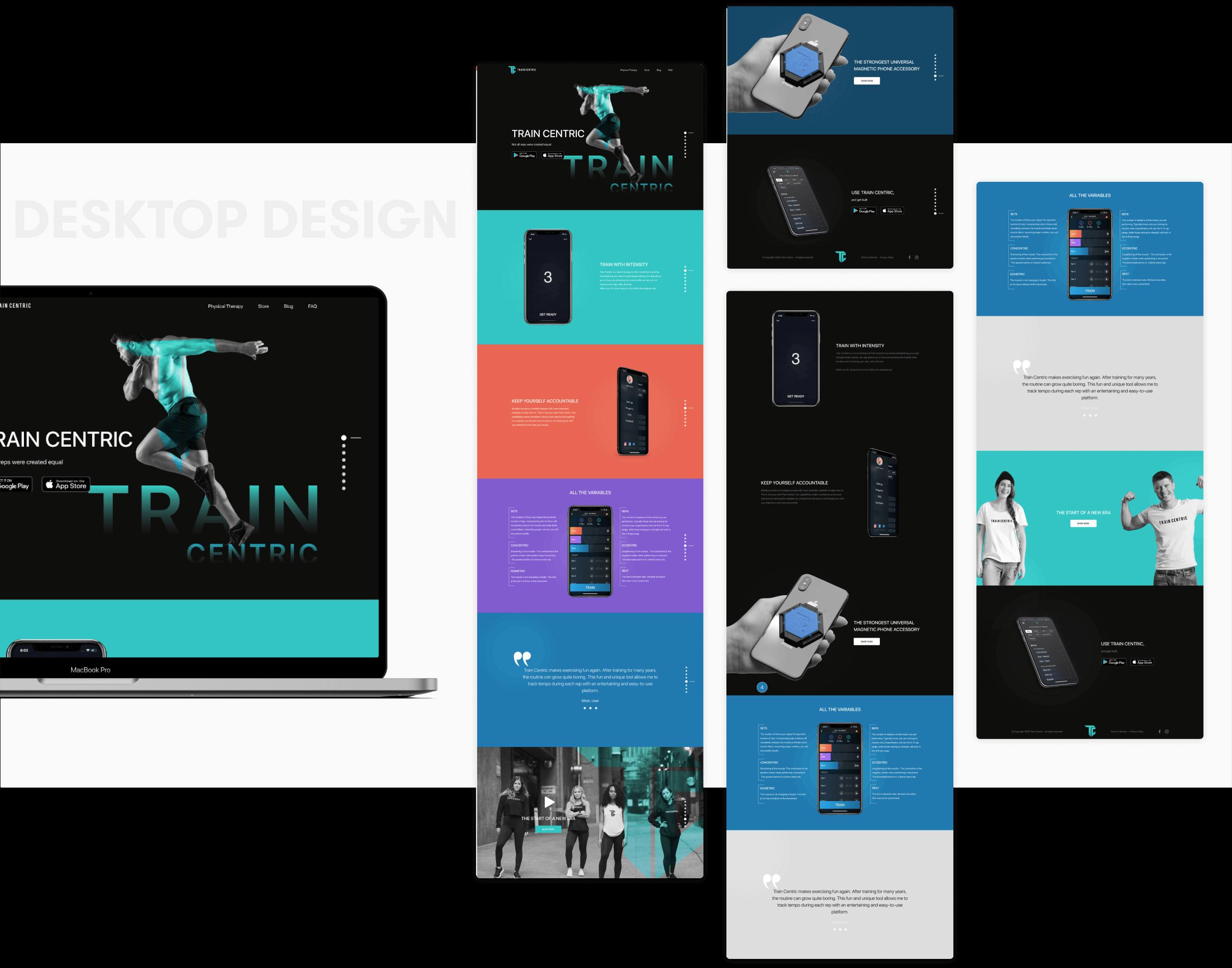 Train Centric  Desktop | Design and development by wowdesign